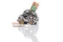 Cédulas e moedas europeias Imagens de Stock Royalty Free