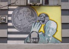 ` Célèbre de contreseings de ` par David McShane, sur l'extérieur des contreseings sales, Philadelphie Photos libres de droits