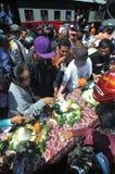 Célèbre Joko Widodo Victory dans l'élection présidentielle Photographie stock libre de droits