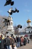 Célébration 2011, Russie de Pâques Photos libres de droits
