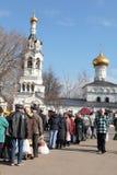 Célébration 2011, Russie de Pâques Images stock
