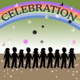 célébration Image libre de droits