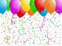Célébration - ballons Photos libres de droits