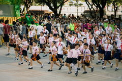 Célébration chinoise d'élèves