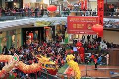 Célébration chinoise d'an neuf Photographie stock