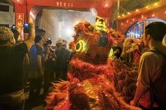 Célébration chinoise d'an neuf Images stock