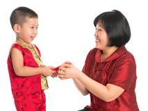 Célébration chinoise de nouvelle année Image libre de droits