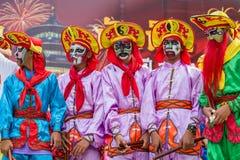 Célébration chinoise de nouvelle année en Thaïlande Photos libres de droits