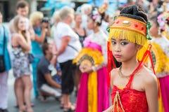 Célébration chinoise de nouvelle année en Thaïlande Photo libre de droits