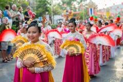 Célébration chinoise de nouvelle année en Thaïlande Photographie stock