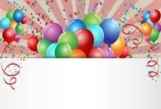 Célébration d'anniversaire illustration libre de droits