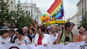 Célébration d'homosexuel de la politique banque de vidéos