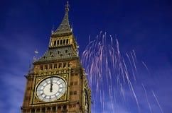 Célébration d'an neuf Image libre de droits