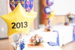 Célébration 2013 d'obtention du diplôme Image stock