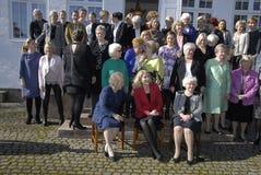 CÉLÉBRATION DANOISE DE JOURS DE LA PERFECTION MINISTER_WOMEN Photographie stock