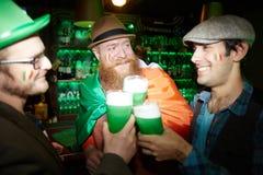 Célébration de bar Photographie stock libre de droits