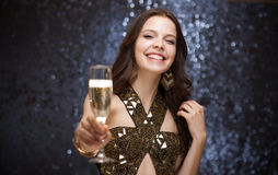 Célébration de Champagne. Image stock