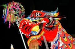 Célébration de Chinois de la Malaisie, Bornéo images libres de droits