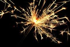 Célébration de cierge magique de la vie Photographie stock libre de droits