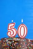 Célébration de cinquante ans Photographie stock
