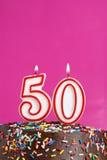 Célébration de cinquante ans Photos stock