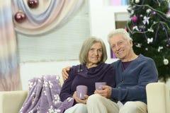 Célébration de couples nouvelle Image stock