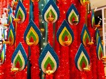 Célébration de Deepawali Images libres de droits