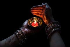 Célébration de Diwali Photo libre de droits