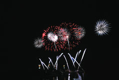 Célébration de feu d'artifice image stock