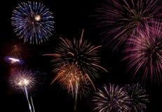Célébration de feux d'artifice Image libre de droits