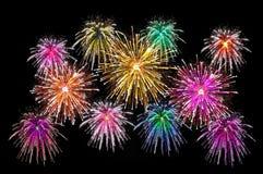 Célébration de feux d'artifice Photos libres de droits