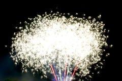 Célébration de feux d'artifice Images libres de droits