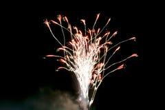 Célébration de feux d'artifice Photographie stock