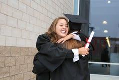 Célébration de graduation Photographie stock libre de droits