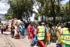 Célébration de Hindus au Kenya Images stock
