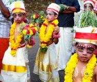 Célébration de jayanthi de Sri Krishna images stock