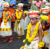 Célébration de jayanthi de Sri Krishna image stock