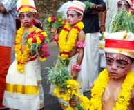 Célébration de jayanthi de Sri Krishna photographie stock