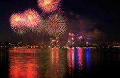 Célébration de jour de l'Australie Images libres de droits