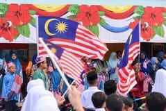 Célébration de Jour de la Déclaration d'Indépendance Photo libre de droits