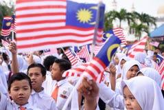 Célébration de Jour de la Déclaration d'Indépendance Photos libres de droits