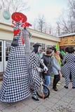 Célébration de jour du ` s de St Patrick à Moscou Images libres de droits
