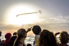 Célébration de Jour de la Déclaration d'Indépendance du ` s d'Izmir Photographie stock libre de droits