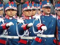Célébration de jour national de la Roumanie, le 1er décembre 2015 Image libre de droits