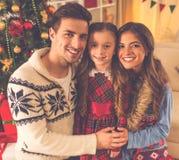 Célébration de Joyeux Noël Images stock