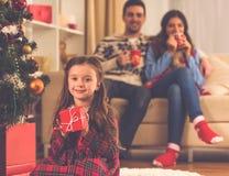 Célébration de Joyeux Noël Image stock