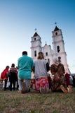 Célébration de l'acceptation de Vierge Marie Images libres de droits
