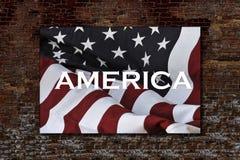 Célébration de l'Amérique Images libres de droits