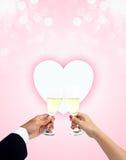 Célébration de l'amour Images libres de droits