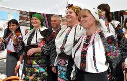 Célébration de la broderie et du borscht_21 images stock